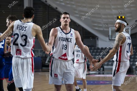 Editorial image of France v Great Britain, FIBA EuroBasket 2022 Qualifiers, Podgorica, Montenegro - 22 Feb 2021