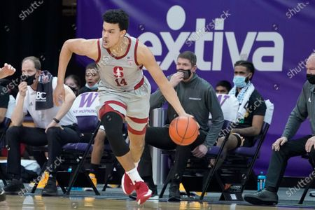 Editorial picture of Stanford Washington Basketball, Seattle, United States - 18 Feb 2021