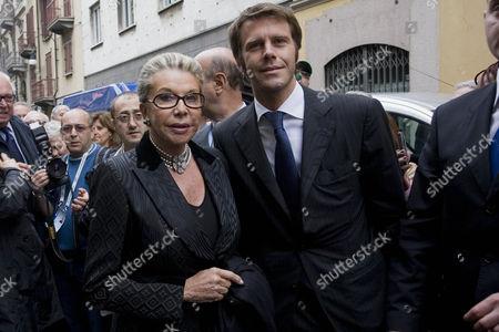 The Italian Savoia family: Prince Emanuele Filiberto and Marina Doria