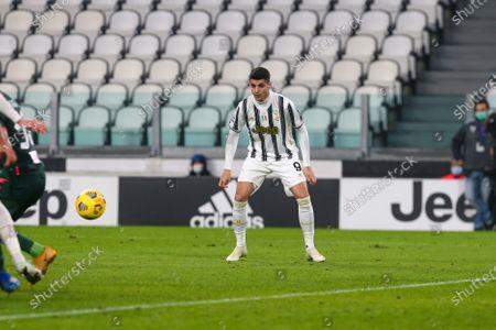 Editorial photo of Juventus v FC Crotone, Serie A, Football, Allianz Stadium, Turin, Italy - 22 Feb 2021