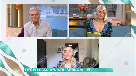 Phillip Schofield, Holly Willoughby, Sienna Miller