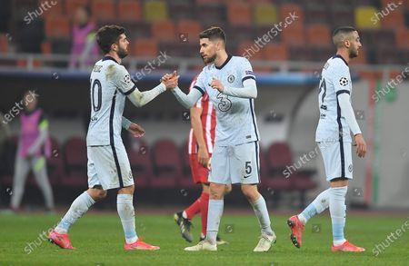 Editorial photo of Atletico Madrid v Chelsea, UEFA Champions League Round of 16, Football, National Arena, Bucharest, Romania - 23 Feb 2021