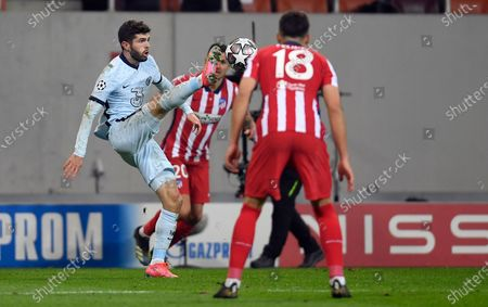 Editorial picture of Atletico Madrid v Chelsea, UEFA Champions League Round of 16, Football, National Arena, Bucharest, Romania - 23 Feb 2021