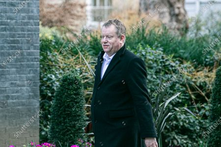 David Frost Chief Negotiator for Exiting the European Union, arriving at Downing Street