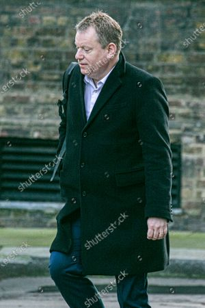 David Frost former chief Negotiator for Exiting the European Union, arriving at Downing Street
