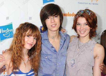 Bella Thorne, Remy Thorne and Dani Thorne