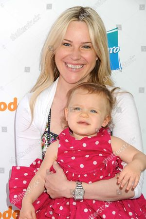 Stock Photo of Beth Stolarczyk and daughter Julia