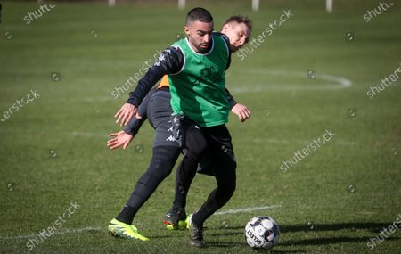 Editorial picture of Soccer Sporting Charleroi Training, Charleroi, Belgium - 23 Feb 2021