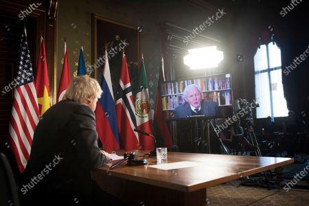 Editorial photo of United Nations, London, United Kingdom - 23 Feb 2021