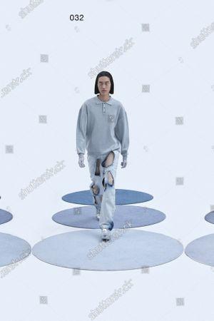 Editorial picture of Womenswear, London, winter 2021, fashion,, Great Britain - 16 Feb 2021