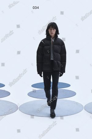 Editorial image of Womenswear, London, winter 2021, fashion,, Great Britain - 16 Feb 2021