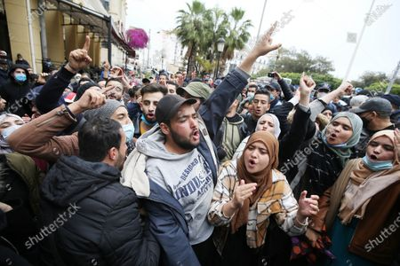 Editorial picture of Demonstration Of Algerian Students, Algiers, Algeria - 23 Feb 2021