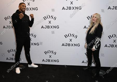 Anthony Joshua and Ellie Goulding