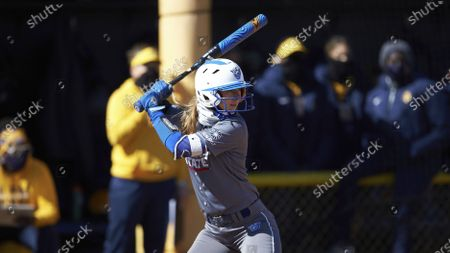 Sophie Mooney (10) of the Georgia State Panthers during an NCAA softball game against the NC A&T Aggies, in Greensboro, N.C
