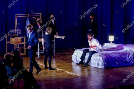 Editorial image of Lessons in love and violence opera rehearsal, Barcelona, Spain - 23 Feb 2021