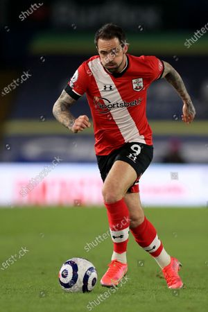 Southampton's Danny Ings runs with the ball during the English Premier League soccer match between Leeds United and Southampton at Elland Road in Leeds, England