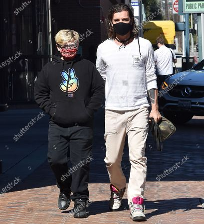 Editorial image of Gavin Rossdale out and about, Los Angeles, California, USA - 23 Feb 2021