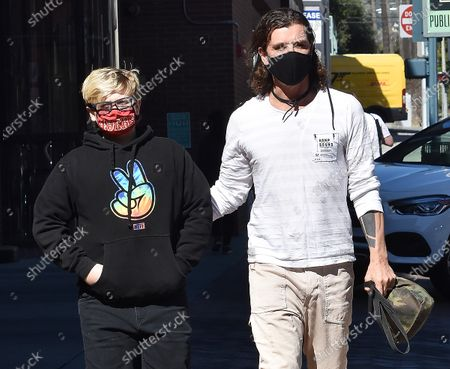 Editorial photo of Gavin Rossdale out and about, Los Angeles, California, USA - 23 Feb 2021
