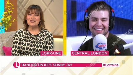 Lorraine Kelly and Sonny Jay