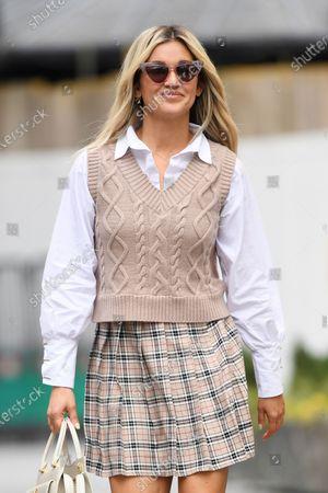Stock Photo of Ashley Roberts at Global Radio