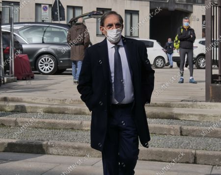 Editorial photo of Mauro Bellugi Funeral, Milan, Italy - 23 Feb 2021