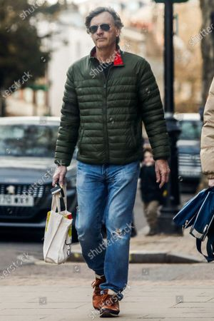 Editorial image of Exclusive - Richard Madeley out and about, London, UK - 24 Feb 2021