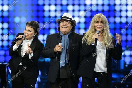 Musical group Ricchi e Poveri: Angela Brambati, Marina Occhiena and Al Bano Albano Carrisi