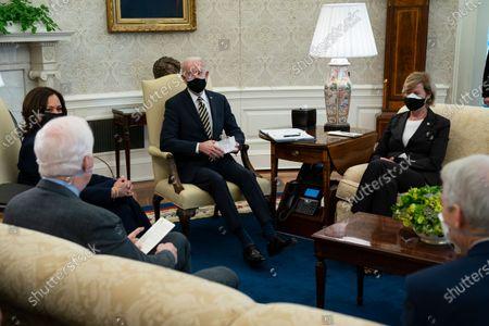 Editorial image of Biden, Washington, United States - 24 Feb 2021