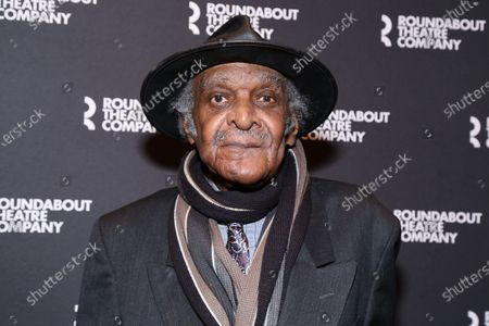 Stock Photo of Douglas Turner Ward arrives for the opening night held at the American Airlines Theatre, in New York City