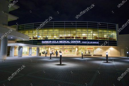 Harbor UCLA Medical Center where Tiger Woods is being treated after his car accident earlier in the day