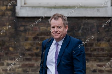 Minister of State in the Cabinet Office David Frost arrives in Downing Street on 24 February, 2021 in London, England. The government has set out a plan for unlocking the country in four stages as the vaccination programme progresses, with the first stage beginning on the 8 March with reopening of schools, allowing for two people to meet socially outdoors and care home residents to have contact with one regular visitor. (Photo by WIktor Szymanowicz/NurPhoto)