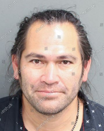 Former All-Star baseball player Johnny Damon stands for a mug shot after he was arrested Friday in central Florida on a charge of resisting an officer after he was pulled over for suspicion of driving under the influence on Wednesday, February 24, 2021. Damon was charged with driving under the influence and resisting an officer without violence.