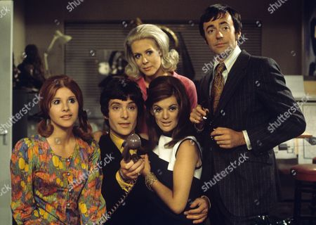 Stock Picture of Georgina Simpson, Jeremy Brett, Valerie Van Ost, Geraldine Moffat and Terence Brady