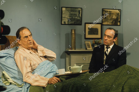 Stanley Holloway and John Junkin