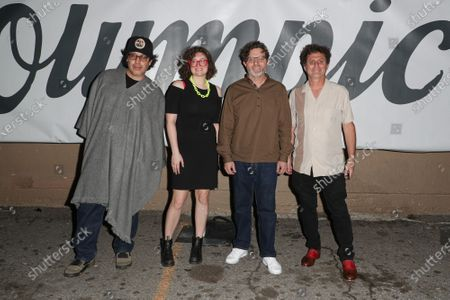 Stock Image of Robert Benavides, Mayre McAnulty, Steve DeBro, Tony Peck