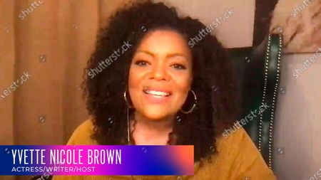 "Yvette Nicole Brown moderated a lively panel with Cedric the Entertainer, Lil Rel Howery and Wanda Sykes, for the Television Academy's online member event ""Breaking Barriers in Comedy: A Celebration of Black Television,"" on"