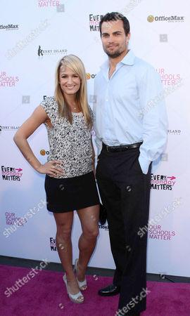 Scott Elrod and Jenn Brown