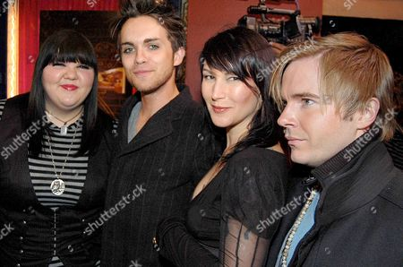 Stock Picture of Ashley Fink, Thomas Dekker, Kat Turner and Actor Anthony Fitzgerald
