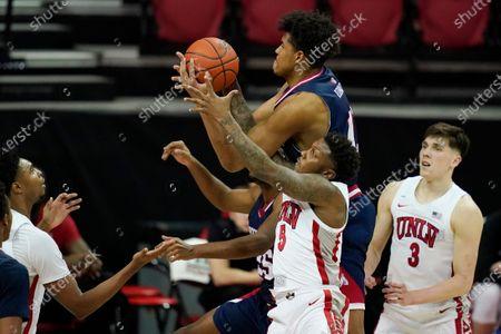 Editorial photo of Fresno St UNLV Basketball, Las Vegas, United States - 24 Feb 2021