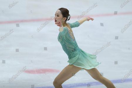 Editorial photo of South Korean figure skater  Kim Ye-lim, Uijeongbu, Korea - 25 Feb 2021
