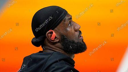 Editorial image of Lakers Jazz Basketball, Salt Lake City, United States - 24 Feb 2021