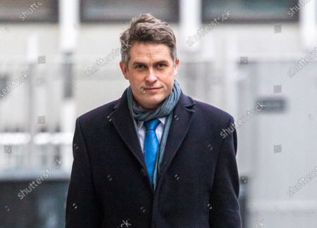 "Education Secretary Gavin Williamson arrives at his office in Westminster, London this morning as he makes plans for school's A Levels and GCSE exams to be voluntarily and give teachers control over grades as the government orders all schools back by 8th March 2021. This week, Prime Minister Boris Jonson announced his ""Roadmap Map' out of Lockdown with a gradual easing of Covid-19 restrictions with shops, pubs and gyms to open by April, Rule of Six and schools back by March and nightlife back by June."