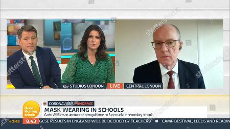 Editorial image of 'Good Morning Britain' TV Show, London, UK - 25 Feb 2021
