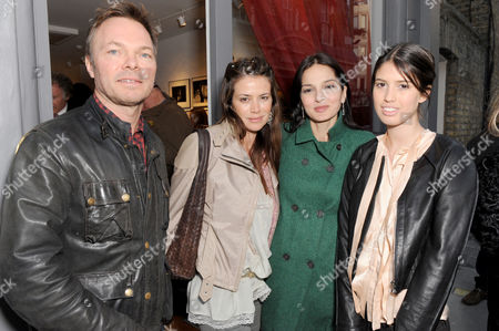 Pete Tong and Wife with Yasmin Mills
