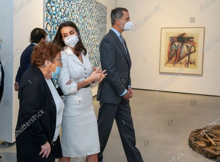 Editorial image of Inauguration of New Contemporary Art Museum 'Helga de Alvear' in Caceres, Spain - 25 Feb 2021