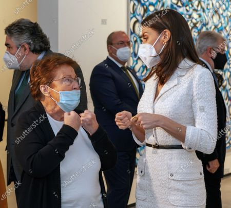Editorial picture of Inauguration of New Contemporary Art Museum 'Helga de Alvear' in Caceres, Spain - 25 Feb 2021