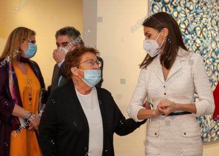 Editorial photo of Inauguration of New Contemporary Art Museum 'Helga de Alvear' in Caceres, Spain - 25 Feb 2021