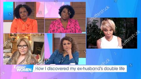 Charlene White, Judi Love, Penny Lancaster, Nadia Sawalha, Trisha Goddard