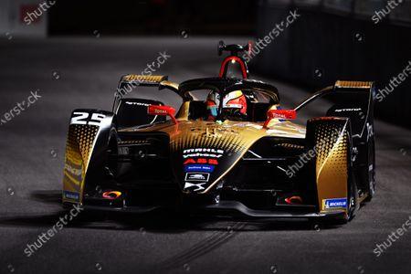 Jean-Eric Vergne (FRA) DS Techeetah, DS E-Tense FE20 during the 2021 Formula E Round 1 - Diriyah E-Prix