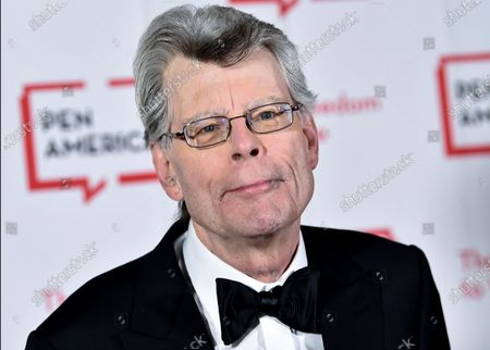 """Literary service award recipient Stephen King attends the 2018 PEN Literary Gala in New York. Readers may know him best for """"Carrie,"""" """"The Shining"""" and other bestsellers commonly identified as """"horror,"""" but King has long had an affinity for other kinds of narratives, from science fiction and prison drama to the Boston Red Sox"""